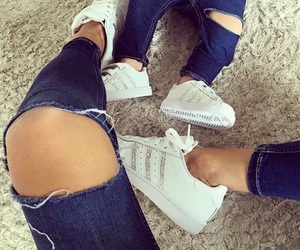 baby, fashion, and adidas image