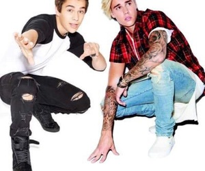 justin bieber, bieber, and mahone image