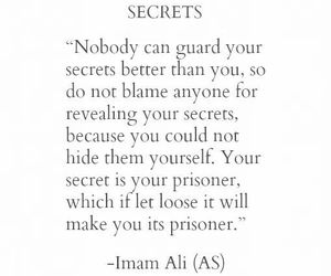 secret, quote, and islam image
