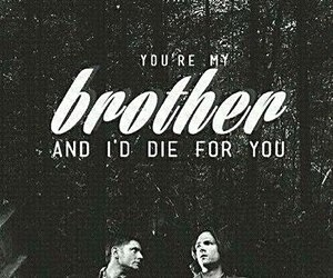 supernatural, Jensen Ackles, and brothers image