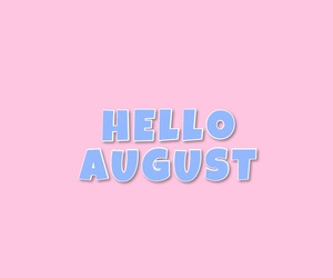 2016, August, and hello image