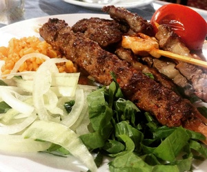 food, meat, and turkish food image