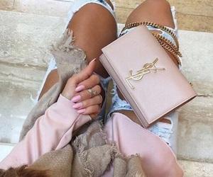fashion, YSL, and pink image
