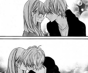 love, anime, and kiss image