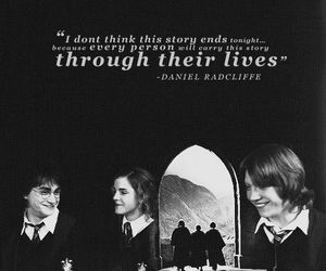 harry potter, daniel radcliffe, and quotes image