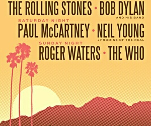 bob dylan, rolling stones, and california image