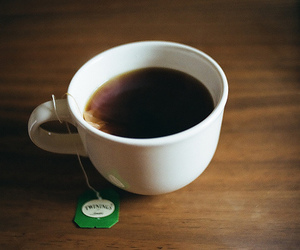 cup of tea, photography, and tea image