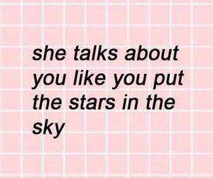 quotes, pink, and stars image