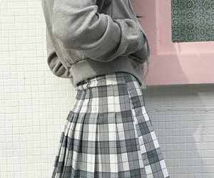skirt, style, and aesthetic image