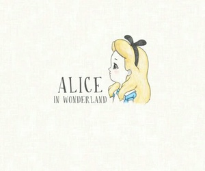 alice in wonderland and wallpaper image