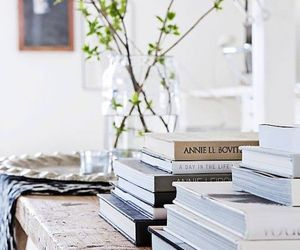 books, interior, and home image