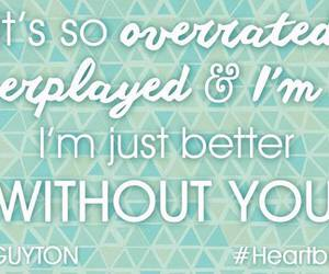 ex, heartbreak, and Lyrics image