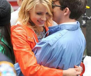glee, kevin mchale, and dianna agron image
