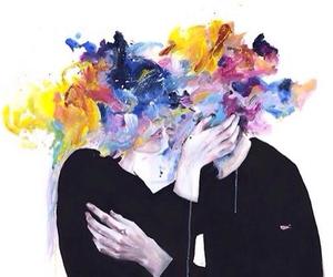 aesthetic, art, and couple image