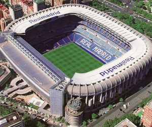 football, stadium, and spain image