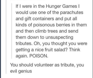 the hunger games and tumblr image