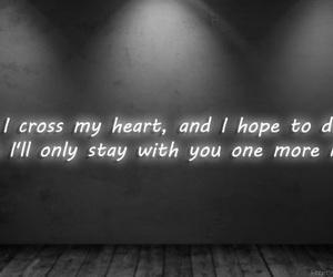 die, heart, and Lyrics image
