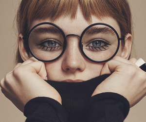 glasses, photography, and model image