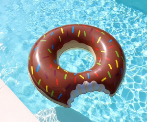 pool, summer time, and summer image