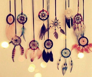Dream and dreamcatcher image