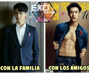 exo, lay, and k-pop image