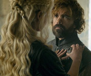 game of thrones, tyrion lannister, and daenerys targaryen image
