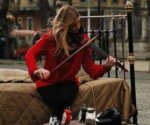 violin and love image