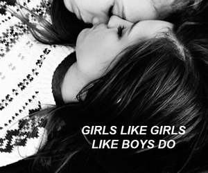 lesbian, couple, and bisexual image