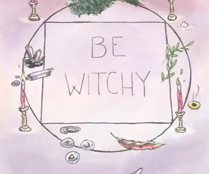 lavender, magic, and witch image