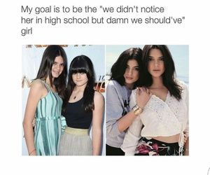 funny, Kendall, and jenner image