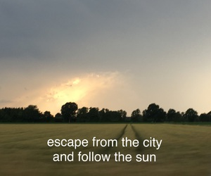 aesthetic, sky, and sun image