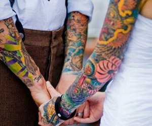 arms, love, and cool image