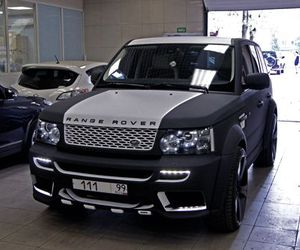 range rover, car, and sport image