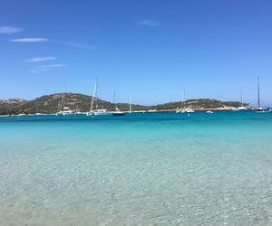 beach, plage, and corse image