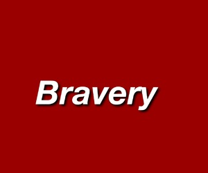 red, bravery, and aesthetic image