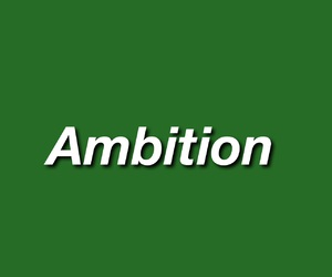 aesthetic, ambition, and green image