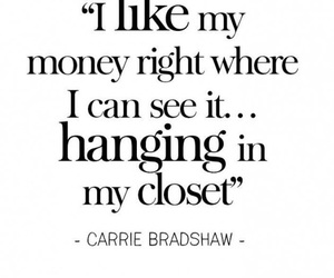 Carrie Bradshaw, closets, and sex and the city image
