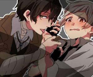 anime, love boys, and yaoi image