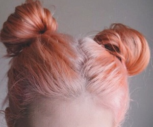 peach hair, 'girls', and 'style' image