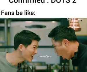 fun, funny, and descendants of the sun image