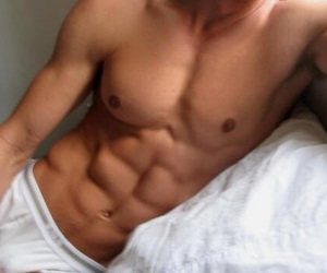 abs, boy, and wallpaper image