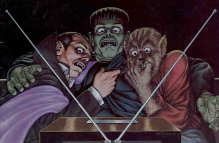 Dracula, horror, and wolf image