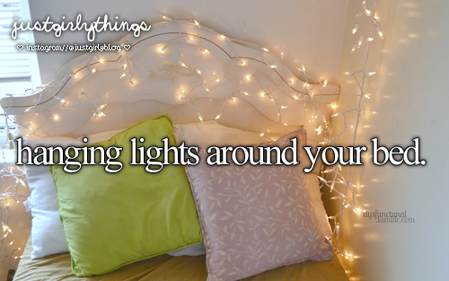 light, bedroom, and just girly things image
