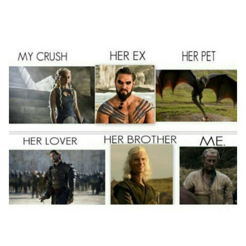 funny, game of thrones, and daenerys image