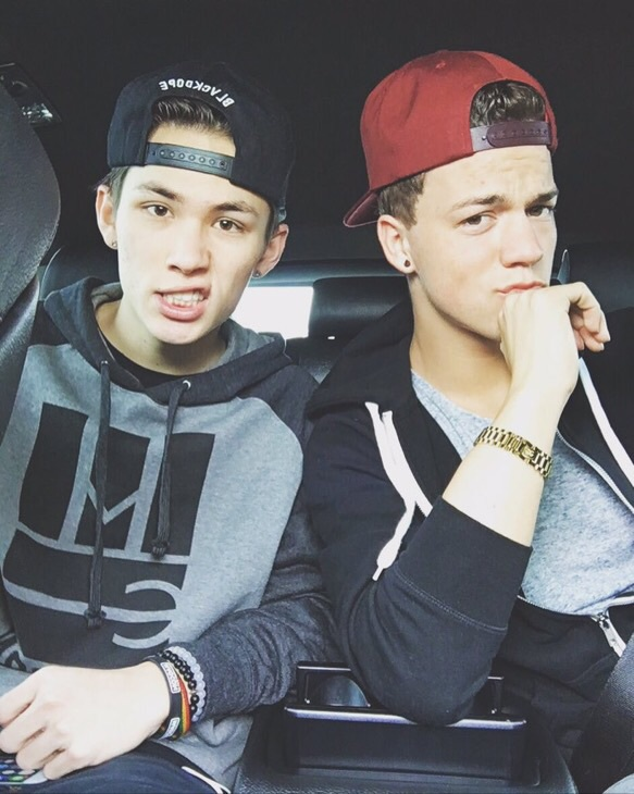 taylor caniff, carter reynolds, and magcon image