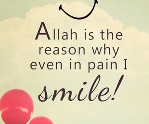 allah and smile image