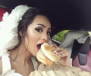 wedding, food, and burger image