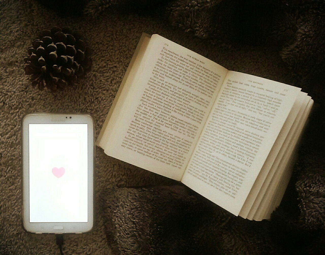 book, heart, and how image