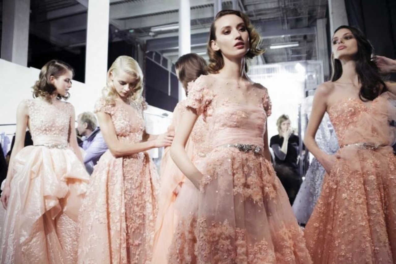 fashion, Zuhair Murad, and backstage image