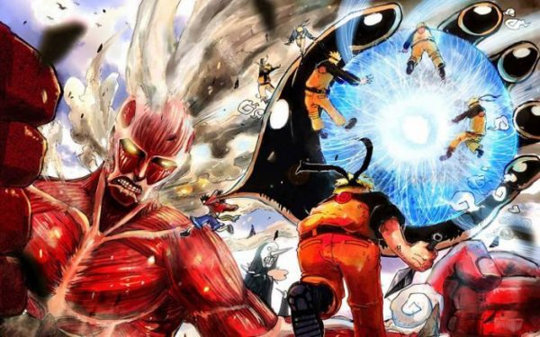 naruto, one piece, and anime image